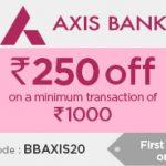 Big Basket Axis Bank Offer